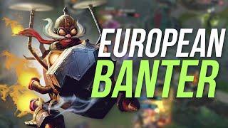 Imaqtpie - EUROPEAN BANTER