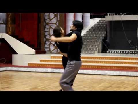 Закулисье шоу Танцы со звездами (выпуск 13) - Анастасия Меньшикова и Дмитрий Ташкин
