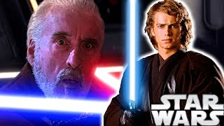 WHY Did Count Dooku Lose to Anakin Skywalker in The Revenge of the Sith? Star Wars Explained
