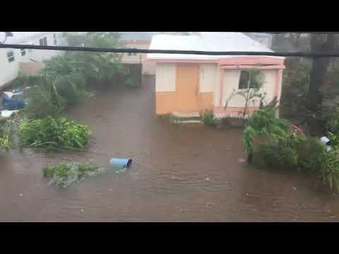 Hurricane Irma is here!! Florida Keys its starting to flood!!