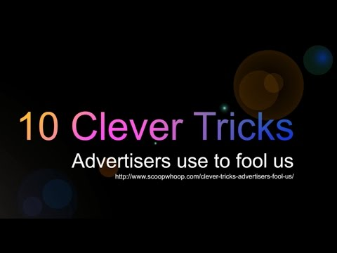 10 Clever Tricks Used in Advertising