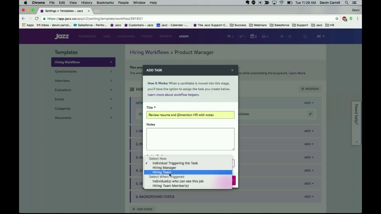JazzHR   Starter Admin Training - YouTube