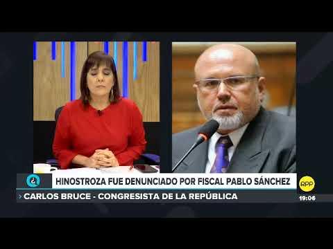 Bruce tras denuncia contra Hinostroza: Es el derrumbe de ese juzgado enquistado en el Callao