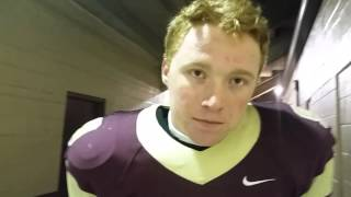 Quarterback Kyle Vantrease of No. 2 Stow talks about the win over No. 3 Olentangy in an OHSAA Divisi