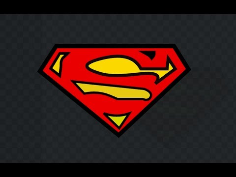 Drawing Superman Logo Using Free Vector Graphics Software Vectr