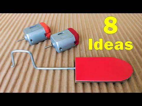 8 Creative Ideas Using DC Motor