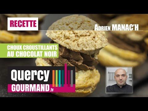 Recette : Choux croustillants chocolat – quercygourmand.tv