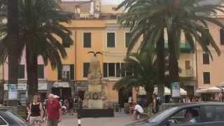 Ceriale, Piazza della Vittoria e lungomare