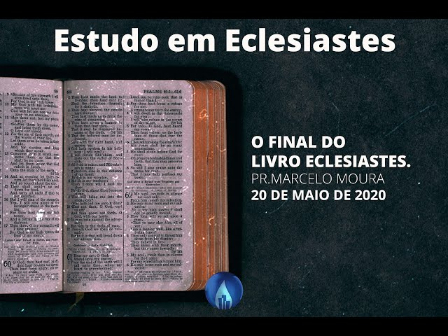 O final do Livro Eclesiastes