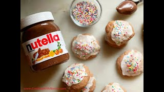 Best Nutella Chocolate Chip Cookies - Italian Recipes By Rossella Rago