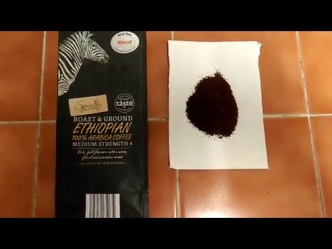 Aldi's specially selected Ethiopian roast & ground coffee review.