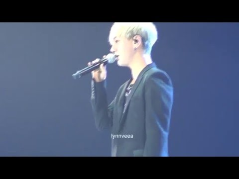 160102 KRY Phonograph Jakarta - Yesung Solo It Has To Be You