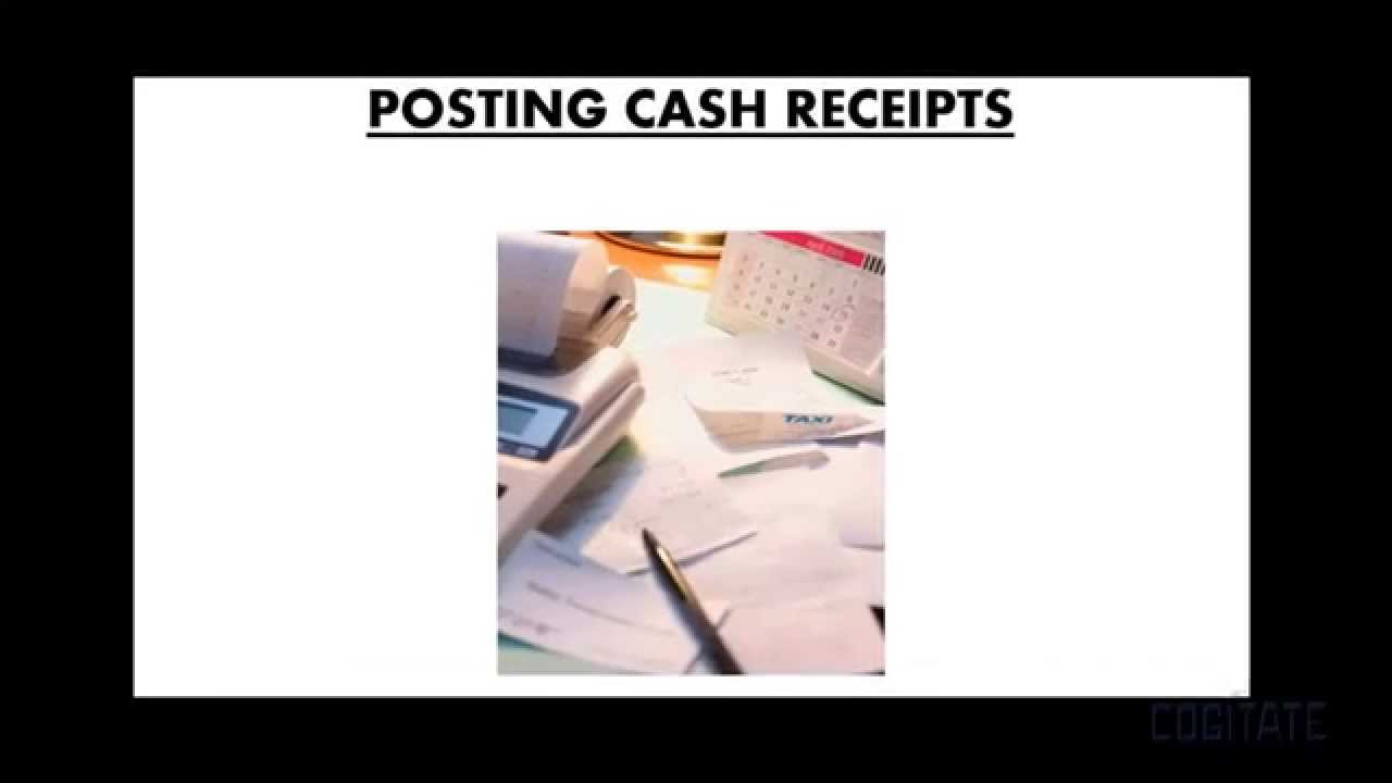 how to use cash receipting in pro fund accounting youtube