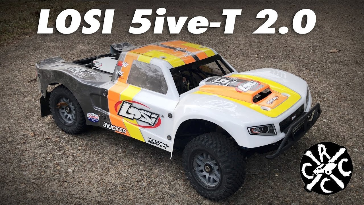 NEW Losi 5ive-T 2 0 First Look and Run - wetube24 com