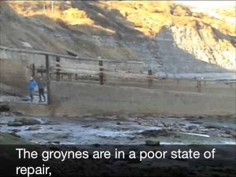 KS3 GCSE Geography Coastal Erosion Protection Lyme Regis