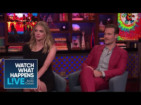 Kate Upton And James Van Der Beek's Attractions  WWHL