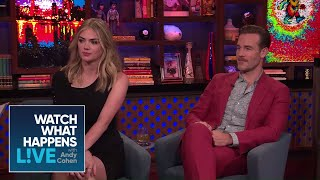 Kate Upton And James Van Der Beek's Attractions | WWHL