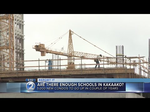Are schools equipped to handle population boom in Kakaako?