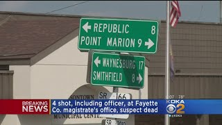 Police Release Latest Details Related To Masontown Shooting At News Conference