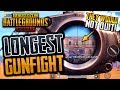LONGEST GUNFIGHT EVER in PUBG Mobile