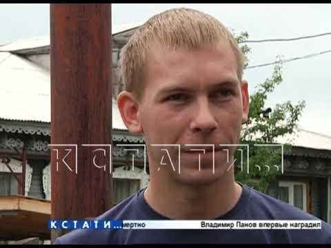 Житель Кулебак спас 7-летнего ребенка из горящего дома