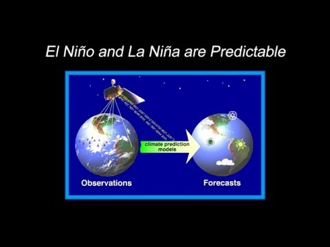 El Nino is one of the most predictable climate events on the planet says Dr. Michael McPhaden.