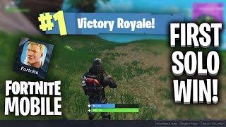 6 KILL WIN! Scoped AR is OP! | Fortnite Mobile 1080p 60