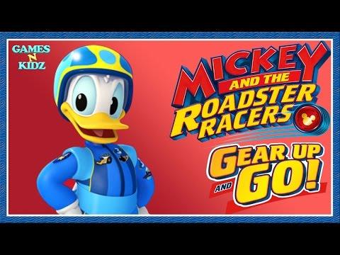 Mickey And The Roadster Racers: Donald Duck Tool Finding Game - Disney Junior App For Kids