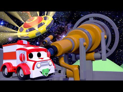 Kora-kora UFO  - Patroli Mobil 🚓 🚒 Truk Kartun Untuk Anak-anak L Indonesian Cartoons For Kids