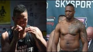 JOSEPH PARKER VS DILLIAN WHYTE MAY BE A STINKER HERES 4 REASONS WHY ???