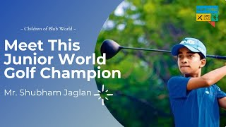 How This Boy From Wrestling Background Became Junior Golf World Champion | Children of Blub World
