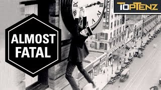 Top 10 Almost Fatal Film Stunts