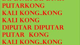 tony q rastafara kong kali kong lyric MP3