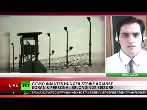 Gitmo inmates on hunger strike over seizure of Korans, personal belongings