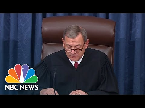 Senators Find Trump 'Not Guilty' Of Abuse Of Power Impeachment Article   NBC News