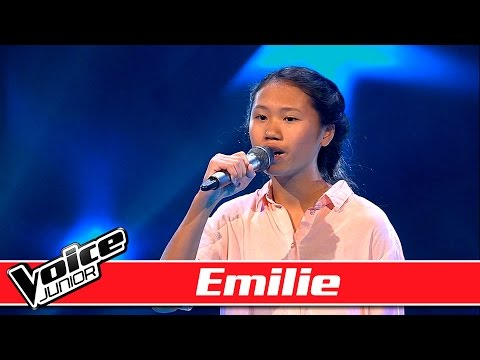Emilie Synger: Ed Sheeran – 'Tenerife Sea' – Voice Junior / Blinds