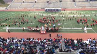 OHS Band at 2016 UIL Regional Competition