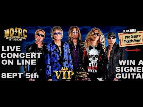 """KINGDOM COME to perform at """"Monsters Of Rock Cruise"""" live stream tix on sale..!"""