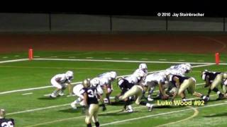 Luke Wood - - 2009 Varsity Football Highlights - -  El Dorado High School