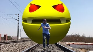PacMan In Real Life || Coming Soon ||