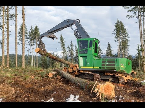 John Deere G Series Forestry Swing Machines