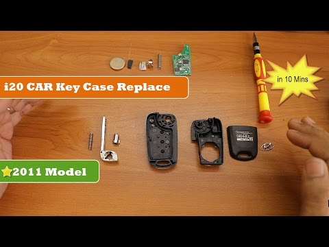 How to replace Hyundai i20 Car key Case | Quick and Easy Way |