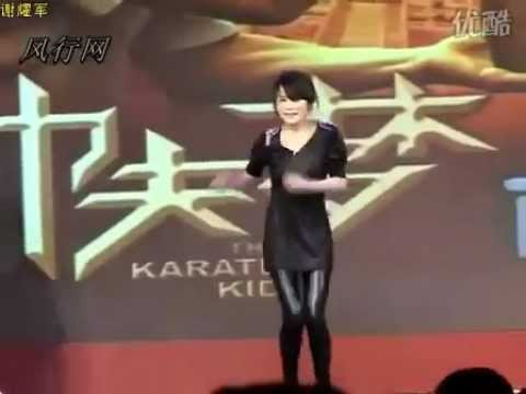 Wenwen Han Karate Kid Dance
