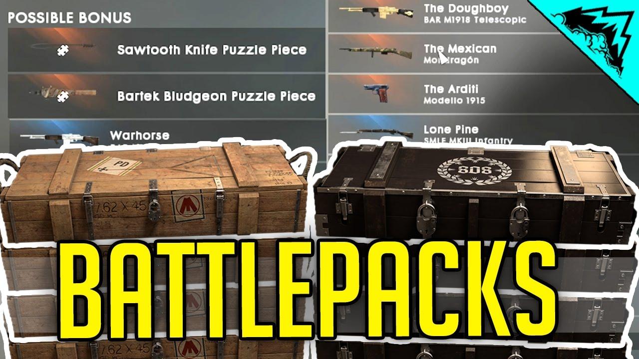 جميع الوان الاسلحة بدون battlepacks
