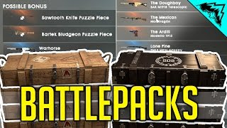 Battlefield 1 Battlepacks - How to get Battlepacks & Scraps = Weapon Camos!