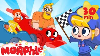 Daddy Vs Mortimer THE RACE My Magic Pet Morphle  Cartoons For Kids  Morphle TV  BRAND NEW