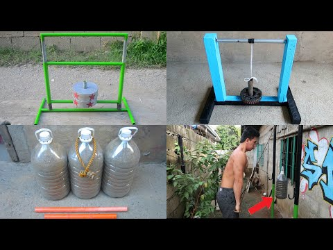 Best Gym Ideas – Homemade Gym Equipment