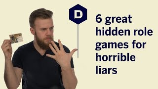 6 great hidden role games for horrible liars