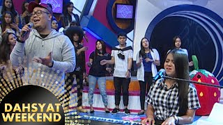 Hanin Dhiya ft  Dimas Anindita 'I'm Gonna Lose You' [Dahsyat] [29 Nov 2015]