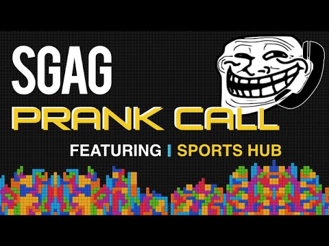 Prank Calling Sports Hub!   #YourPitchIsSoSandy